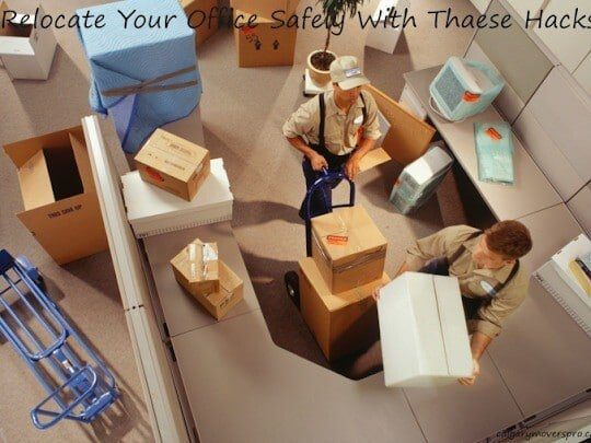 Relocate Your Office Safely With These Hacks